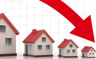 Daling in verkoop woningen